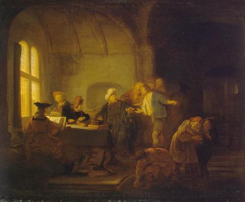 Конінк, Саломон - Притча про робітників на винограднику, Ермітаж