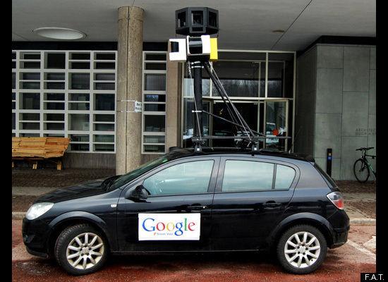 Підроблена машина Google Street View