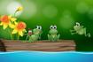 Притча: Три жаби на колоді