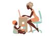 Притча: Жінка з дитиною