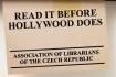 Витончена реклама книжкових магазинів