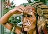 Притча-перл: Старий індіанець у банку