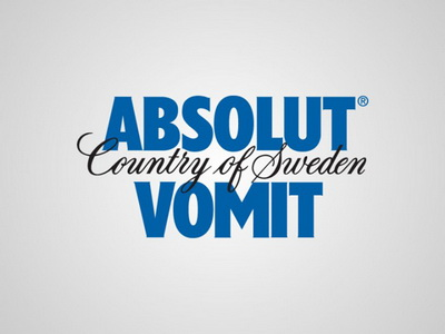 Absolut Vodka - Absolut Vomit