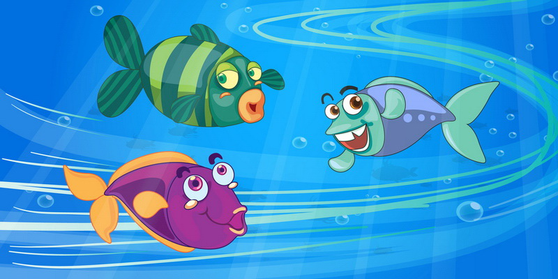 Притча: Три риби
