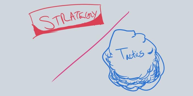 Чим стратегія відрізняється від тактики?