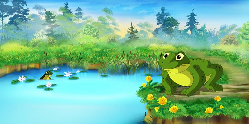Притча: З болота в гори