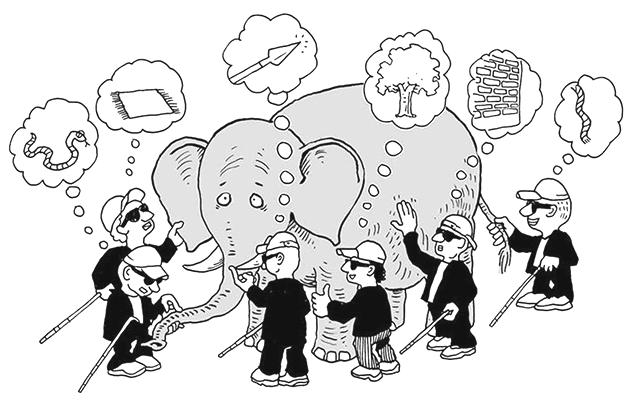 Притча про сліпців і слона