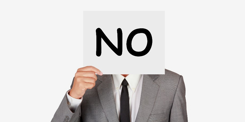 Сначала всегда говорите «нет»